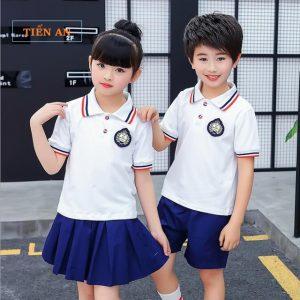 Áo phông đồng phục học sinh tiểu học