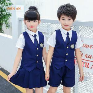 Mẫu đồng phục học sinh tiểu học thiết kế đẹp